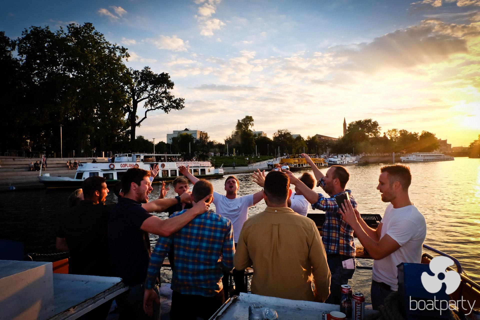 BoatParty Wieczór Kawalerski Wrocław